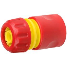 """Коннектор, 1/2"""" (12 мм), ударопрочный пластик, GRINDA"""