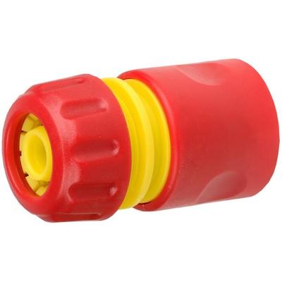 """Коннектор, 1/2"""" (12 мм), ударопрочный пластик, GRINDA - Фото 1"""