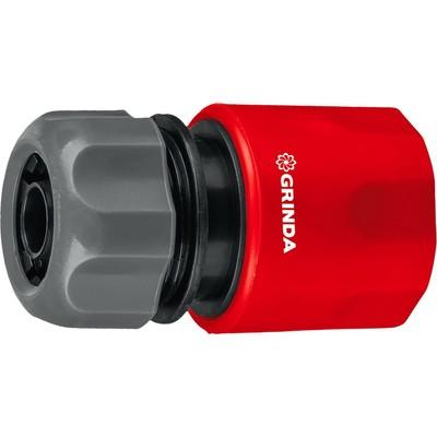 """Коннектор, 3/4"""" (19 мм), ударопрочный пластик, GRINDA - Фото 1"""