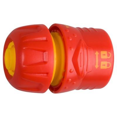 """Коннектор с запирающим механизмом, d=1/2"""" (12 мм), пластик, GRINDA - Фото 1"""