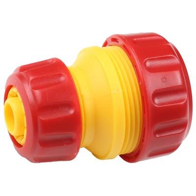 "Муфта-коннектор, d=1/2""-3/4"" (12-19 мм), пластик, GRINDA - Фото 1"