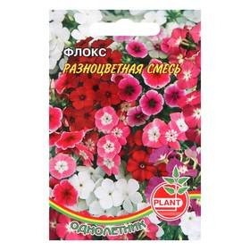 Семена цветов Флокс Разноцветная смесь 0,05г. Ош