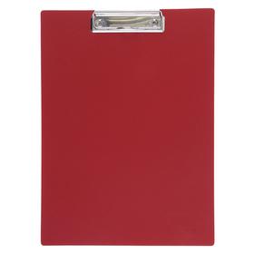 Планшет с прижимом А4, Calligrata, песок, красная Ош