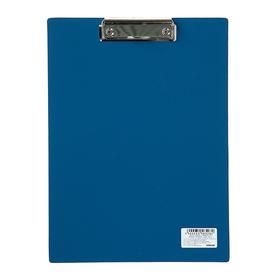 Планшет с прижимом А4, Calligrata, песок, синяя Ош