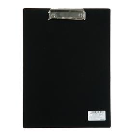 Планшет с прижимом А4, Calligrata, песок, чёрная Ош