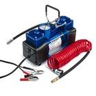 Компрессор автомобильный Торнадо АС-620ма, двухпоршневой, 60 л/мин, 280 W, 12 В, 10 атм