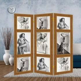 Ширма 'Фотомодель', 160 × 150 см Ош