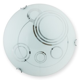 Светильник Margaret 2x60Вт E27 белый 7x30см