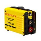 Сварочный аппарат инверторный Eurolux IWM220, 220 В, 10-220 А, IP21, дуга 28.8 В