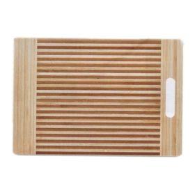 Доска разделочная бамбук, размер 33х23х1,6 см