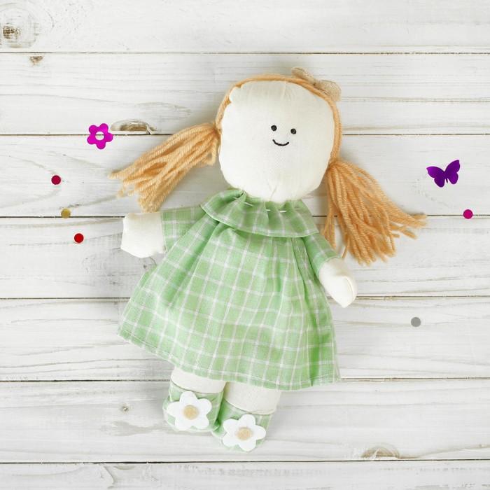 Подвеска Людмила, кукла с цветочками на голове и ножках, цвета МИКС
