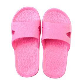 Сланцы для девочки «Степ» цвет розовый, размер 25-26 Ош