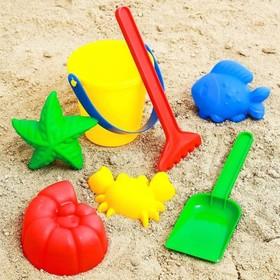 Набор для игры в песке №40, цвета МИКС