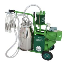 Доильный агрегат 1П, 22.6 л , последовательно выдаивает 8-10 коров, силикон Ош