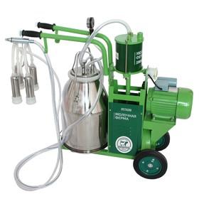 Доильный агрегат 2П, 22.6 л , последовательно выдаивает 8-10 коров, силикон Ош