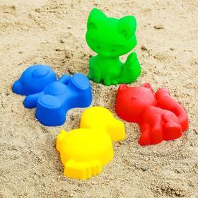 Песочный набор, цвета МИКС