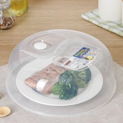 Крышка для СВЧ 26 см, с клапаном, прозрачный