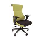 Кресло игровое Chairman game 10, чёрный/зелёный