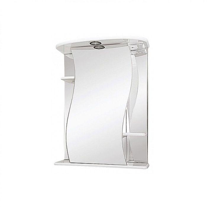"""Зеркало Misty """"Лиана-55"""", с подсветкой, левое"""