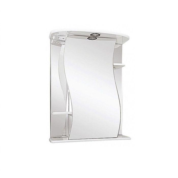 """Зеркало Misty """"Лиана-55"""", с подсветкой, правое"""