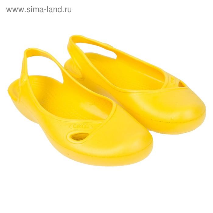 Аквашузы женские River арт. 006, цвет жёлтый, размер 36