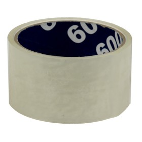 Клейкая лента упаковочная 48 мм х 24 м, 45 мкм UNIBOB (прозрачная) Ош