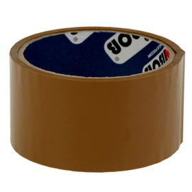 Клейкая лента упаковочная 48 мм х 24 м, 45 мкм UNIBOB (темная) Ош