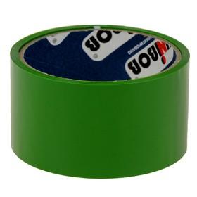 Клейкая лента упаковочная 48 мм х 24 м, 45 мкм UNIBOB (зеленая) Ош