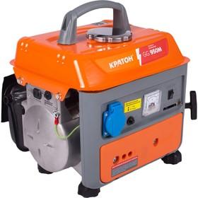 Генератор бензиновый 'Кратон' GG-950M, 0.65/0.7 кВт, 220В / 50Гц, 63 см3, 8.3 А, 4 л Ош
