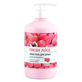Крем-гель для душа Fresh Juice «Личи и малина», 750 мл