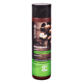 Шампунь Dr.Sante Macadamia Hair «Восстановление и защита», гладкость и блеск, для ослабленных волос, 250 мл