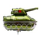 """Шар фольгированный 14"""" «Танк Т-34»"""
