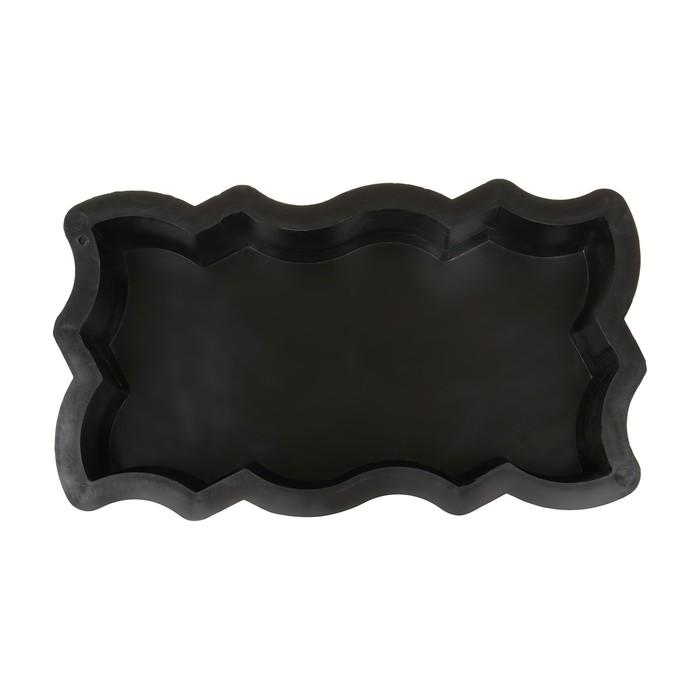 Форма для тротуарной плитки Волна Зигзаг, 26  13  56 см, Ф11004, 1 шт