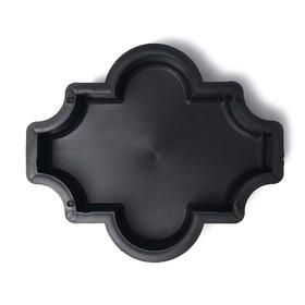 Форма для тротуарной плитки «Клевер», 26.5 × 22 × 5.6 см, гладкая, Ф11019, 1 шт. Ош
