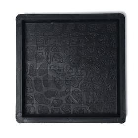 Форма для тротуарной плитки «Галька», 25 × 25 × 2,5 см, Ф32001, 1 шт Ош