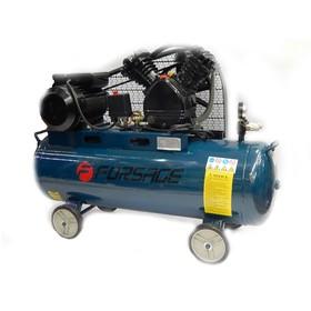 Компрессор Forsage F-TB265-70, 2-х поршневой с ременным приводом, 2.2 кВт, 70л, 250 л/м