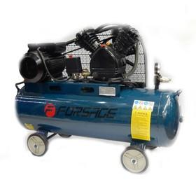 Компрессор Forsage F-TB265-100, 2-х поршневой с ременным приводом, 2.2 кВт, 100 л, 250л/м