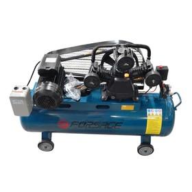 Компрессор Forsage F-TB290-150, 3-х поршневой с ременным приводом, 3.0 кВт, 100 л, 360 л/м