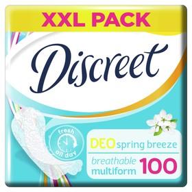 Прокладки ежедневные Discreet Deo Spring Breeze Multiform, 100 шт