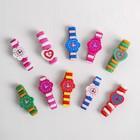 Часы детские, на резиночке с фигурным циферблатом, цвета МИКС - Фото 1