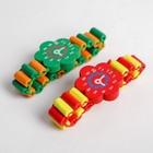 Часы детские, на резиночке с фигурным циферблатом, цвета МИКС - Фото 2