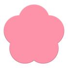 Мини-коврик для ванны на присосках «Цветочек»