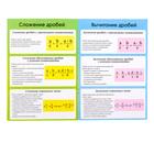 Книжка-шпаргалка по математике «Дроби», 8 стр., 5-9 класс - Фото 2