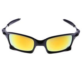 Очки спортивные 'Square', оправа классическая, линзы зеркальные, микс, 14х5.5 см Ош