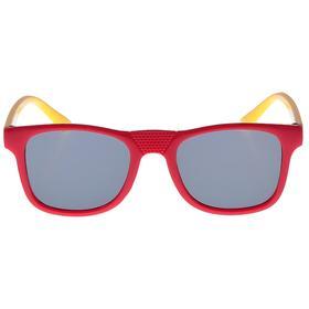 Очки солнцезащитные детские 'Square', оправа двухцветная, МИКС, линзы тёмные, 12.5 × 4.5 см Ош