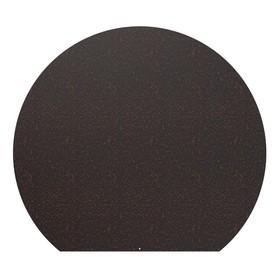 Лист притопочный, круглый, антик медь сталь 1,2 мм, 90 х 80 см Ош