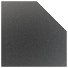 Лист притопочный Угловой-призматический, чёрный, сталь 1,2 мм, 110 х 110 см Ош