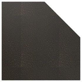 Лист притопочный Угловой-призматический, антик бронза, сталь 1,2 мм, 110 х 110 см Ош