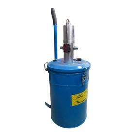 Емкость для нагнетания густой Partner смазки PA-1003, 20 л, с пневмонасосом Ош