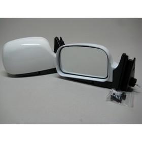 Зеркало боковое с регулировкой 3291-07, ВАЗ 2107, белое, 2 шт. Ош